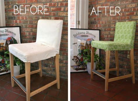 bar stool slip cover whipstitch