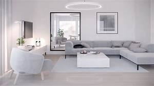 40 gorgeously minimalist living rooms that find substance for Living room furniture visualizer