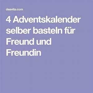 Adventskalender Für Freundin Basteln : 17 best ideas about adventskalender selber basteln on pinterest kleinigkeiten f r den ~ Watch28wear.com Haus und Dekorationen