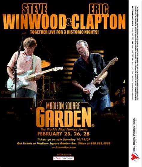 eric clapton square garden eric clapton steve winwood abtij