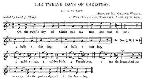 The Twelve Days Of Christmas  Version 3