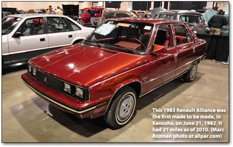 1983 renault alliance 1983 dodge chrysler plymouth amc and jeep cars and trucks