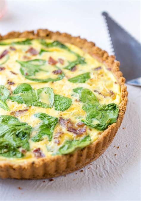 keto breakfast quiche  zesty bite