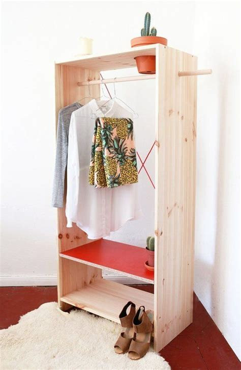 build  freestanding wardrobe closet woodworking