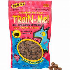 Crazy Dog Train-Me! Mini Training Reward Dog Treats | Petco