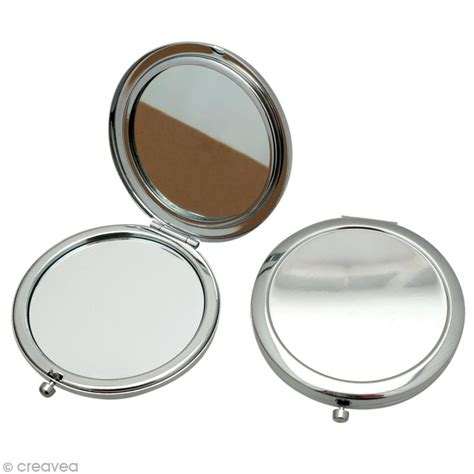 miroir de poche en m 233 tal 7 7 cm 224 d 233 corer miroir 224 d 233 corer creavea