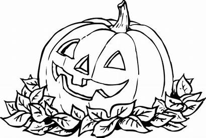 Pumpkin Coloring Pages Drawing Printable Forget Supplies