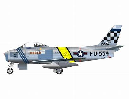 Plane Clipart Air Force Fighter 86f War
