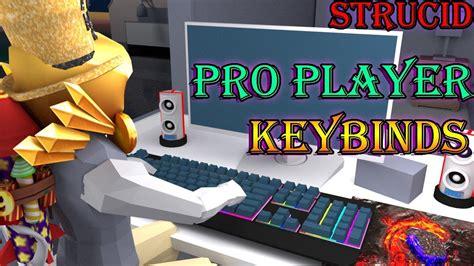 strucid pro player keybinds tips tricks