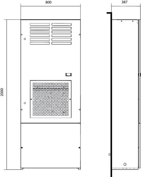 climatiseur d armoire electrique climatiseur d armoire clc 6 224 10 kw