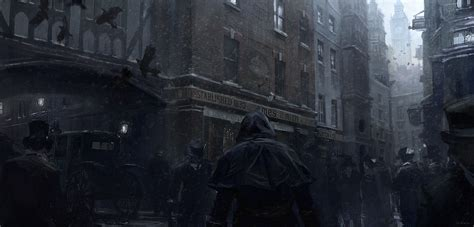 Assassins Creed Syndicate Jack The Ripper Concept Art By
