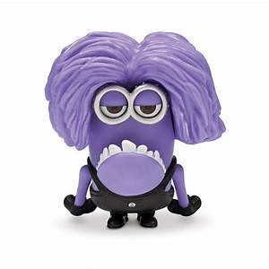 Despicable Me 2 5cm Articulated Purple Minion Reviews ...