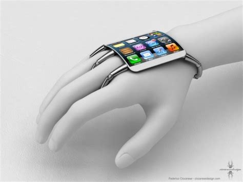 iphone wrist concept curved glass iphone wrist computer macmixing