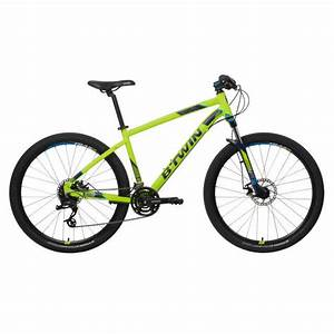 Rockrider St 520 Mountain Bike Yellow
