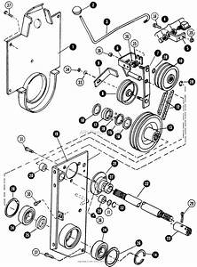 Snapper 1855a  80928  18 Hp Twin Cyl Hydro Drive Garden Tractor  Mf  Parts Diagram For Rear