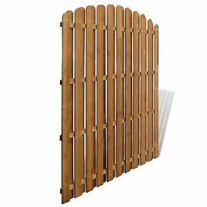 Gartenzaun Günstig Holz : sichtschutzzaun element gartenzaun aus holz vertikal bogendesign g nstig kaufen ~ Sanjose-hotels-ca.com Haus und Dekorationen