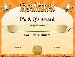 funny teacher awards 101 printable certificates fun With fun award templates
