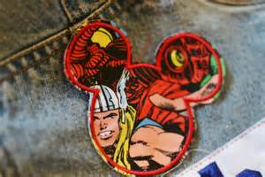 Marvel Iron On Patches