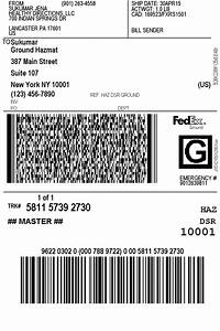 Fedex Ground Tracking Number On Label Alcohol Screen4
