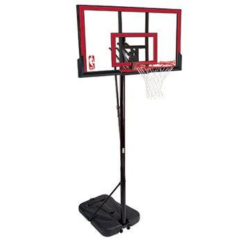spalding  residential adjustable portable basketball