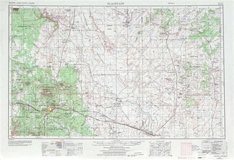flagstaff topographic maps az usgs topo quad