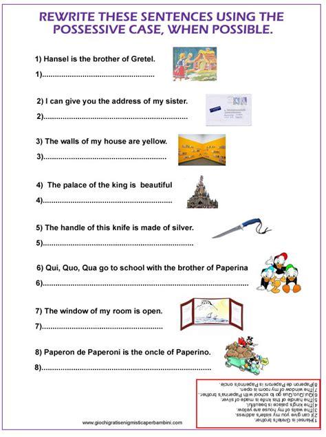 Test Ingresso Scuola Secondaria Primo Grado by Esercizi Grammatica Inglese Pdf Prima Media