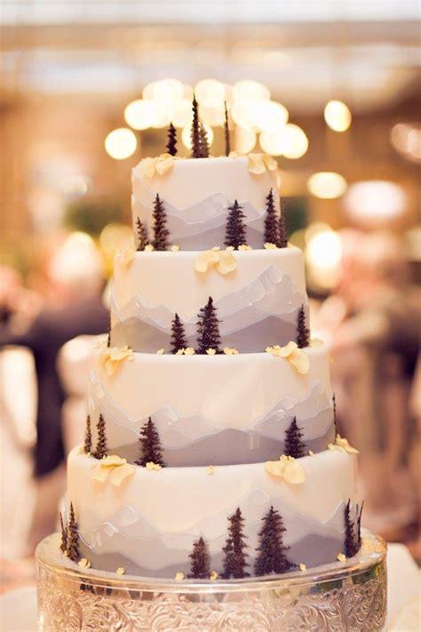 woodland wedding cakes   complete