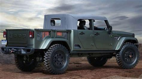 jeep scrambler  great future pickup truck newsc