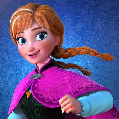 artstation princess anna  frozen characters sgwa