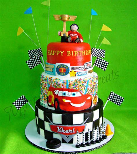 kharl s cars themed birthday cake cakecentral