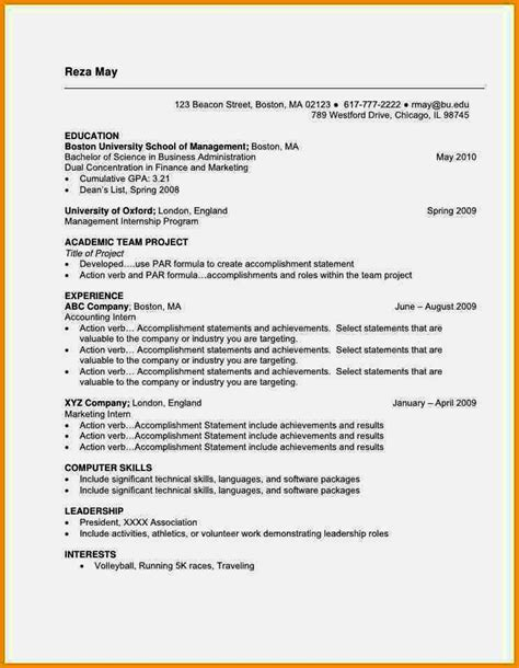 Current Cv Template by Current Cv Format In Nigeria 2017 Nairaland Resume