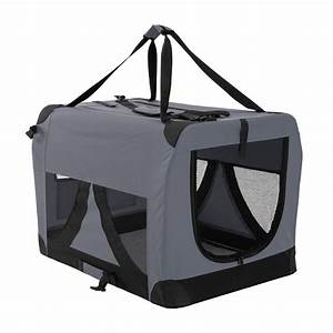 Pet dog soft crate portable carrier travel cage tent for Xl dog travel crate