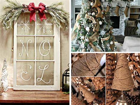 Easy Diy Christmas Decoration Ideas-rustic Style