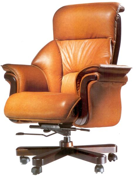 brown light leather office chairs