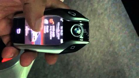 bmw  series keyless entry lcd fob youtube