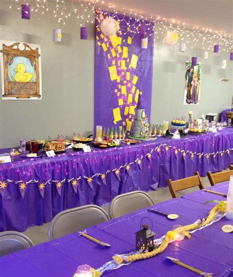 rapunzeltangled birthday party ideas photo