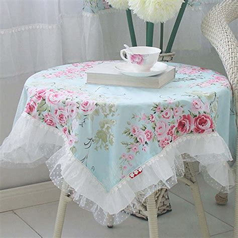 shabby chic tablecloth