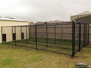 custom built dog run pet enclosure south morang wright With custom dog runs