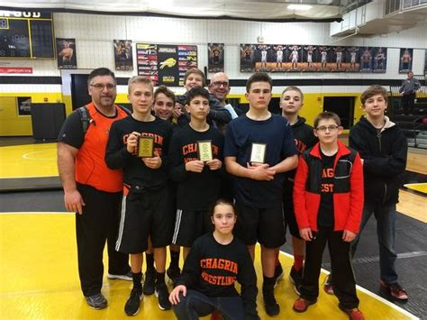 chagrin falls high school boys grade wrestling winter