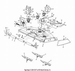 Mtd 14aj849p131  1998  Parts Diagram For Deck P
