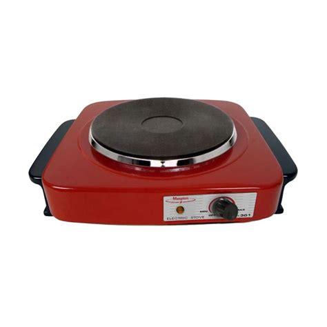 kompor listrik maspion msp s jual maspion s301 merah kompor listrik harga