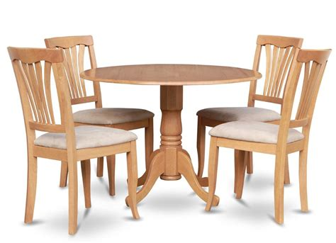 round kitchen table with 4 chairs 5pc dinette kitchen set round 42 in round table 4
