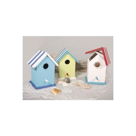 deco boite en boite bois en forme cabane de plage maison pratic boutique pour vos loisirs creatifs et