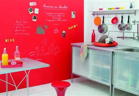 tableau craie cuisine comment transformer un mur en tableau et surface aimantée