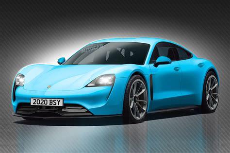 An Electric Car by How To Design An Electric Car According To Porsche Design