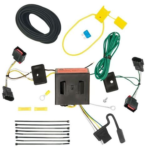 Trailer Wiring Harnes Chrysler by 2008 2010 Chrysler Town Country Trailer Hitch Wiring Kit