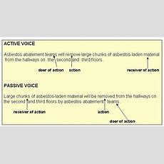 Voice Active And Passive