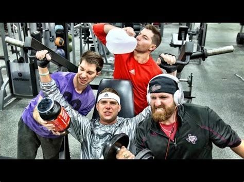 dude perfect stereotypes people   gym video