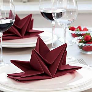 Servietten Falten Stern : stern servietten falten diy anleitung deko feiern diy origami xmas and craft ~ Markanthonyermac.com Haus und Dekorationen