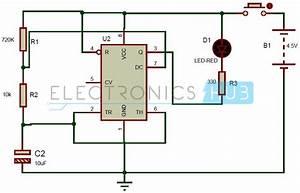 Dummy Alarm Circuit Using 555 Timer Ic